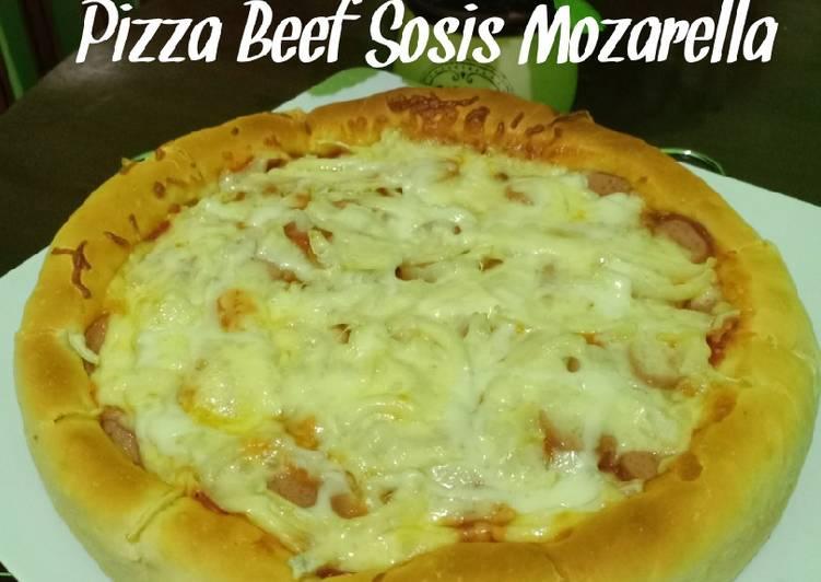 Pizza Beef Sosis Mozarella