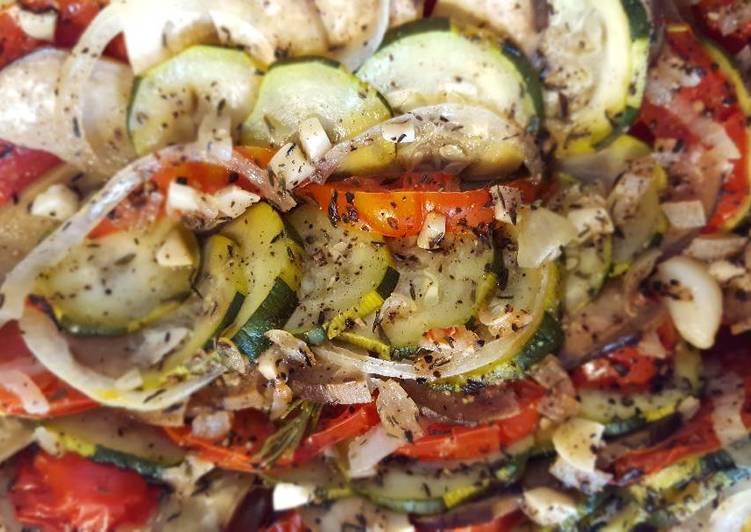 Recette Délicieux Tian aux légumes d'été