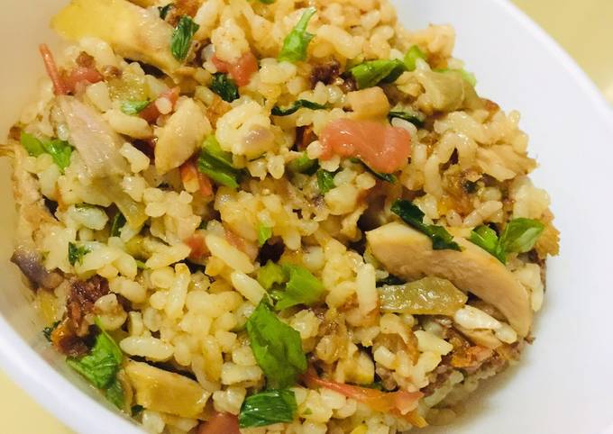 Leftover Makeovers: Tomato Curry Fried Rice