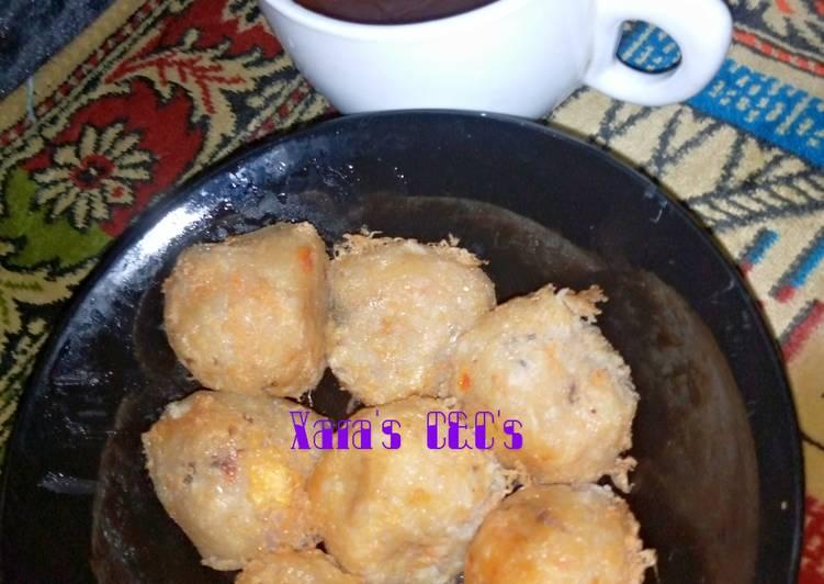 10 Minute Simple Way to Make Speedy Yam-sweet potato Balls