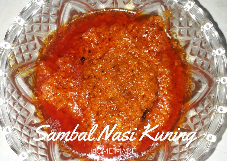 Sambal Nasi Kuning