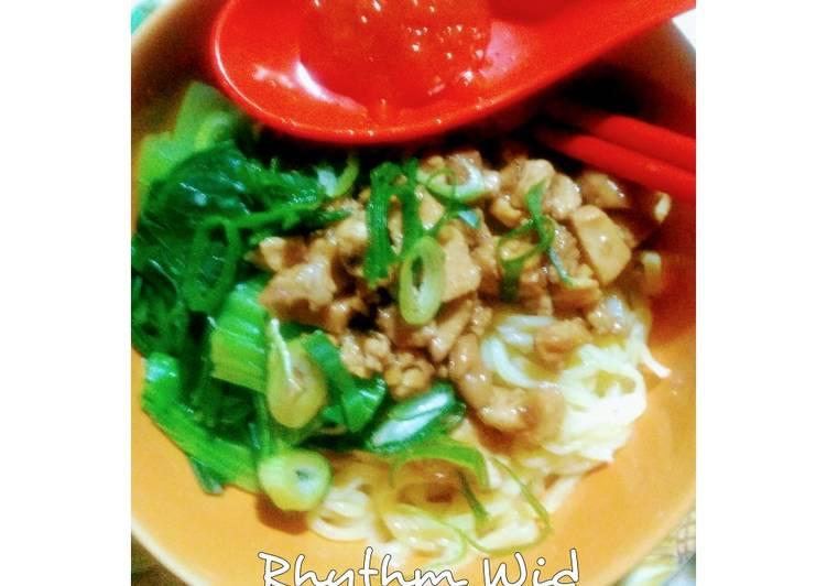Mie Ayam Homemade From Scratch