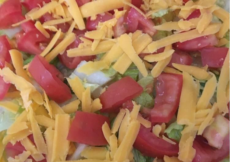 How to Prepare Favorite Best taco dip Mycookbook