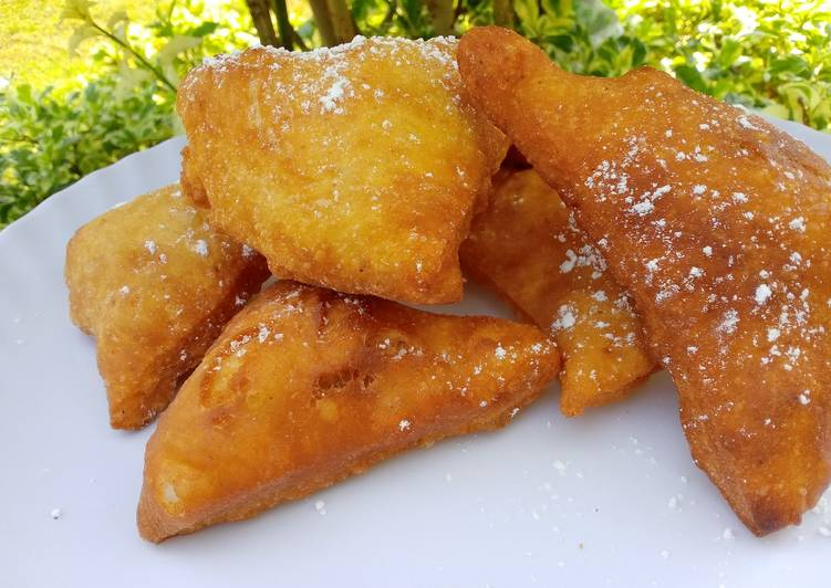 Cinnamon mandazi