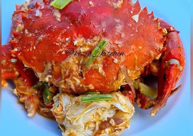 Easiest Way to Prepare Ultimate Kepiting Telur Asin (Crab in Salted Egg)