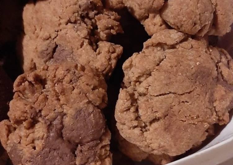Soft n chewy cookies dengan tepung gandum(cocok utk diet)