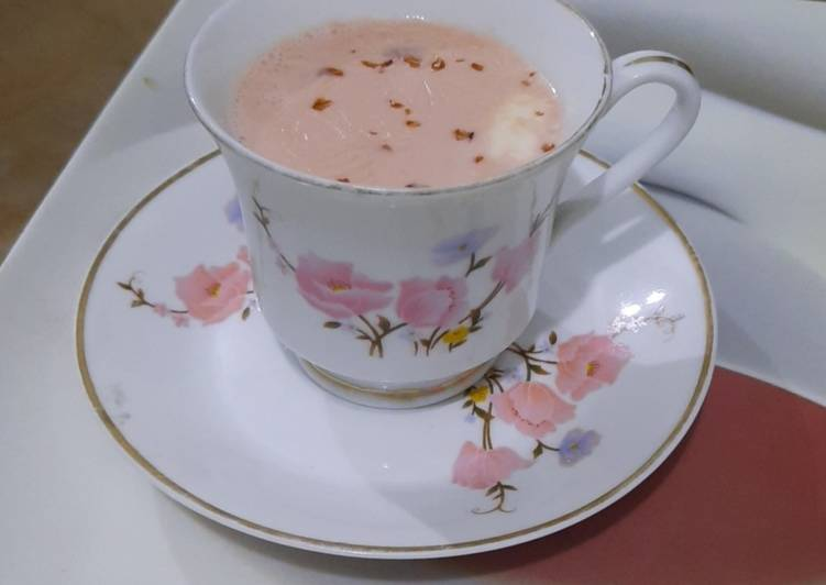 Step-by-Step Guide to Prepare Homemade Kashmiri chai(Pink Tea)