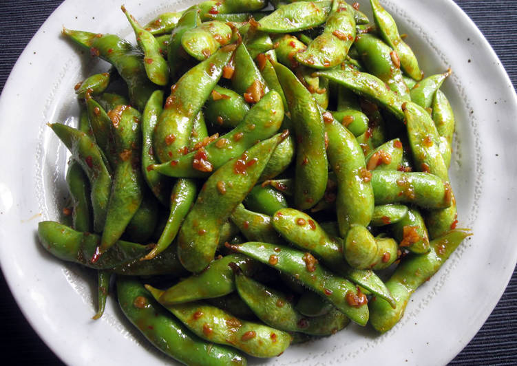 Step-by-Step Guide to Make Favorite Chilli Garlic Edamame