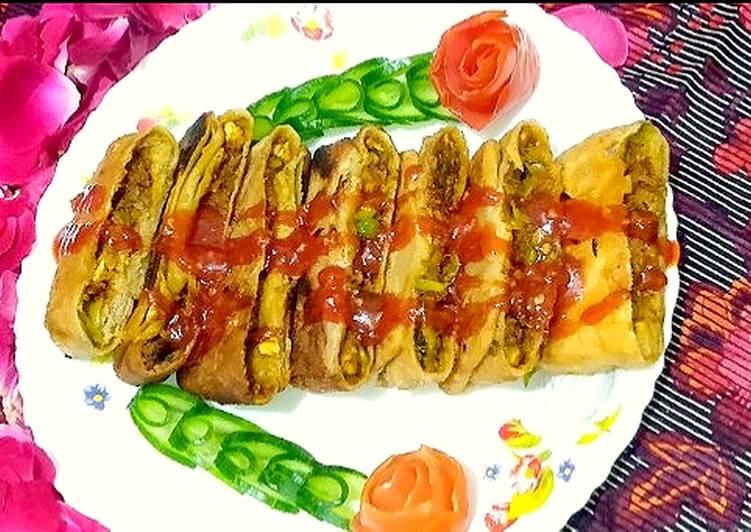 Arbic chicken vegetables paratha 😋😋😋😋😋😋
