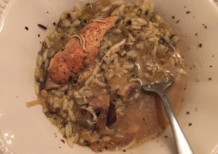 Crockpot Chicken Rice Stew