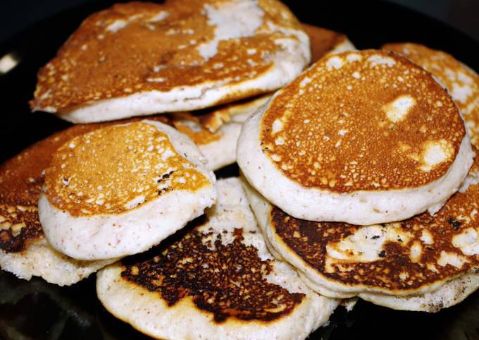 Pancakes végans aux amandes