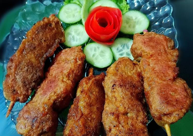 How to Prepare Speedy Fried Chicken Sticks #CookpadRamadan