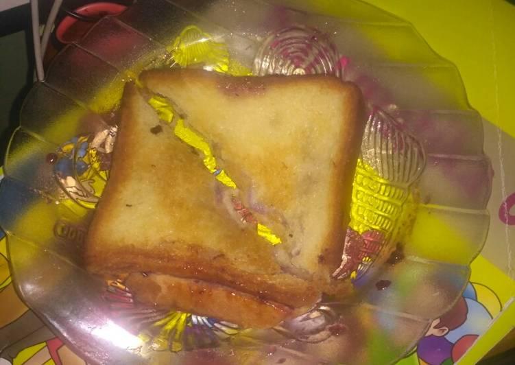 Roti bakar teflon biasa