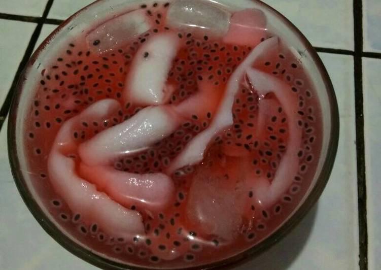 Es kelapa jely