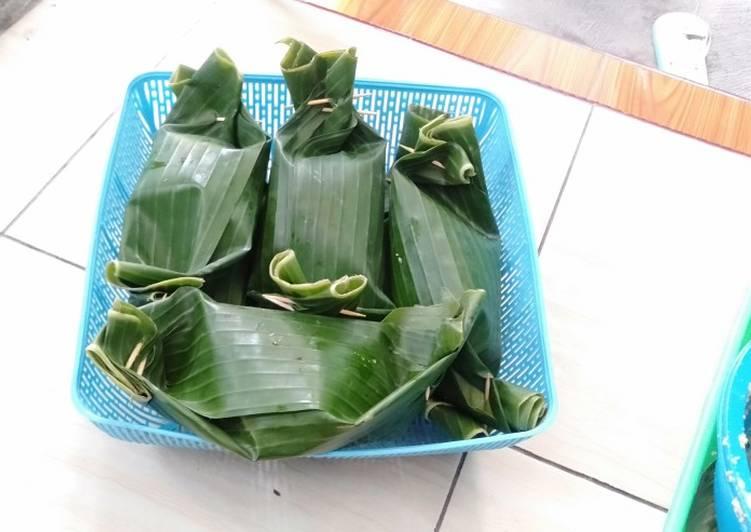 Pepes ikan Patin khas Banjarmasin