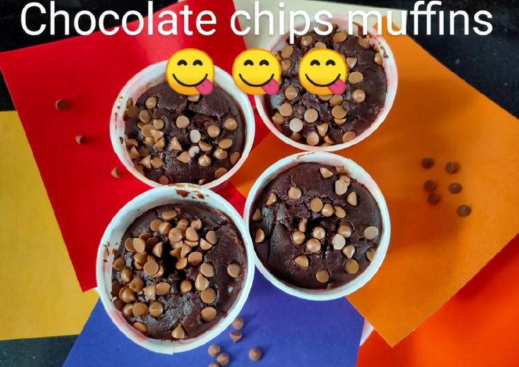 Chocolate chips muffins – Simply Recipes Cookbooks