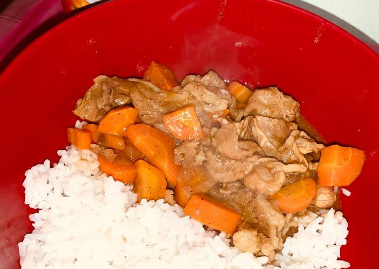 Beef Curry With Carrot