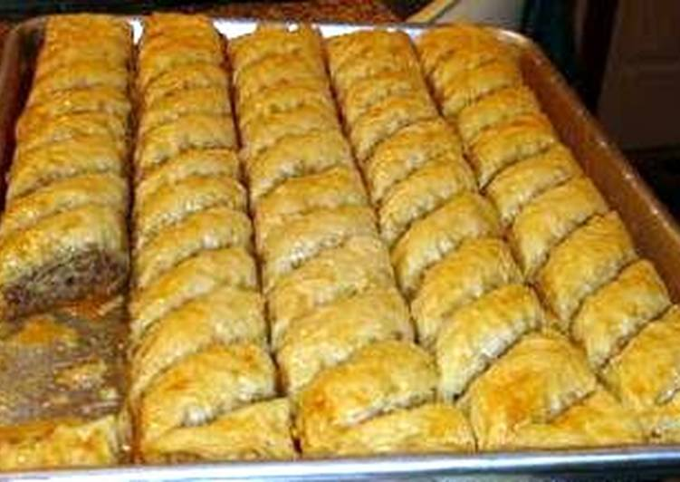 Maria's Not so Sweet Baklava