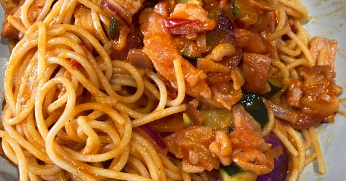 Naporitan(ナポリタン) - spaghetti with ketchup sauce Recipe by ...