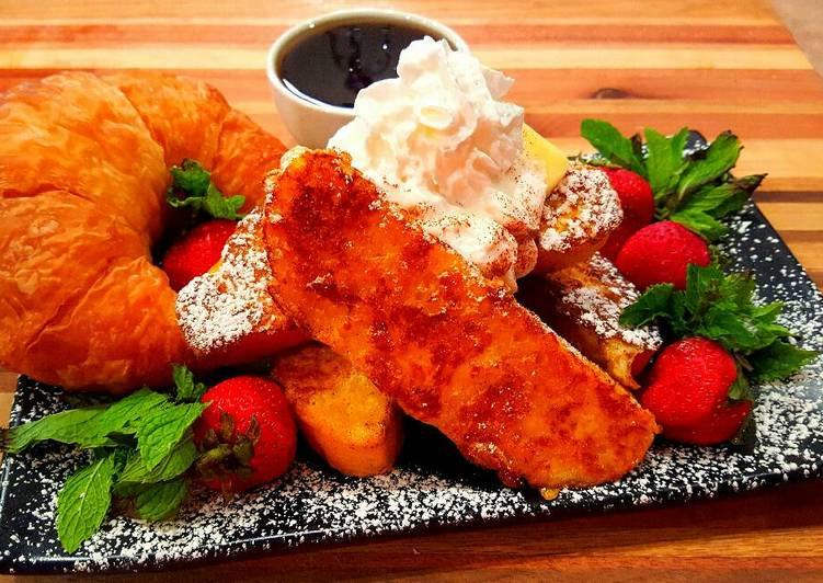 Mike's Bourbon French Toast
