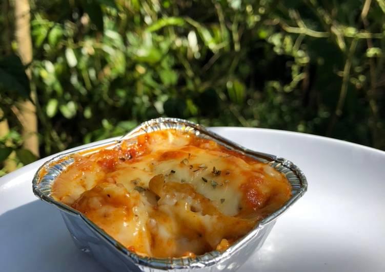 Resep Lasagna Kulit Pangsit Yang Menggugah Selera