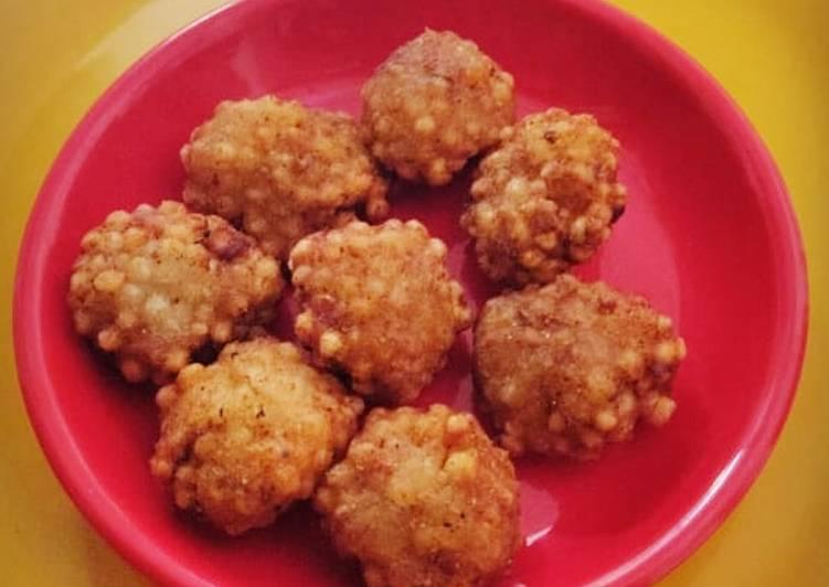 Simple Way to Make Homemade Sabudana pakora