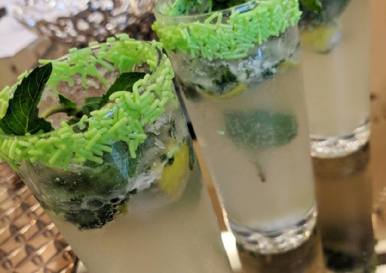 Simple Way to Prepare Any-night-of-the-week Mint - Virgin -Mojito