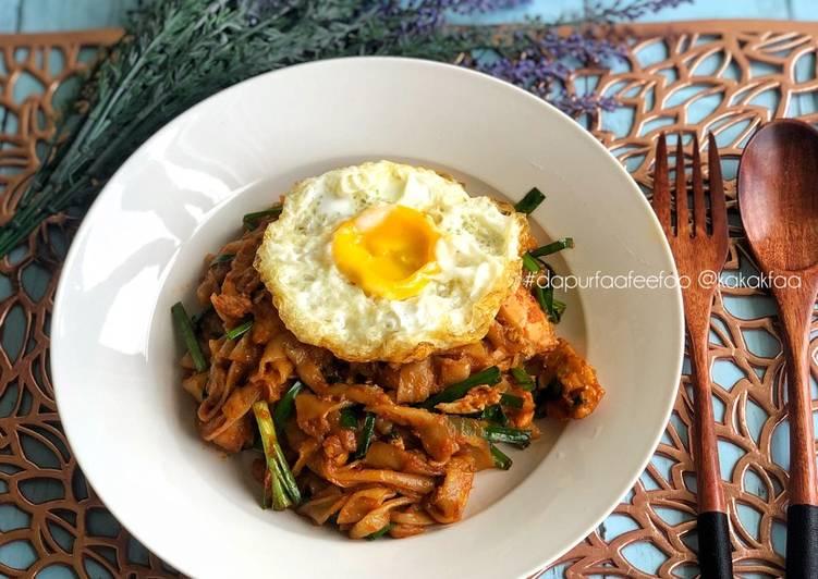 Resepi:  Kuey Teow Goreng Simple