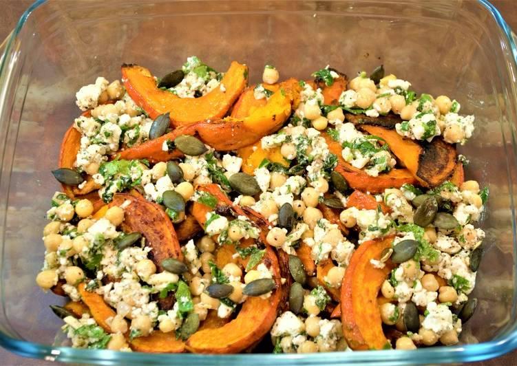 Recipe of Ultimate Roasted Pumpkin & Feta