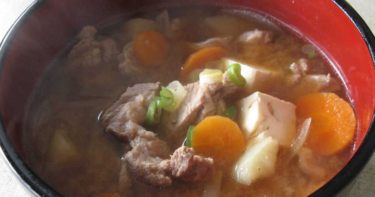 Butajiru / Tonjiru Recipe by Hiroko Liston - Cookpad