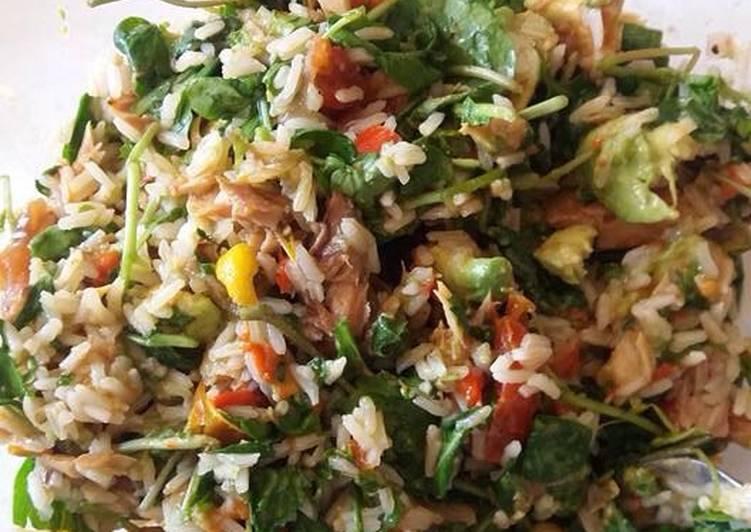 Simple Way to Prepare Award-winning Chopped Rice/Fish Salad