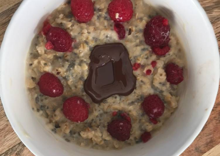 Porridge chaud