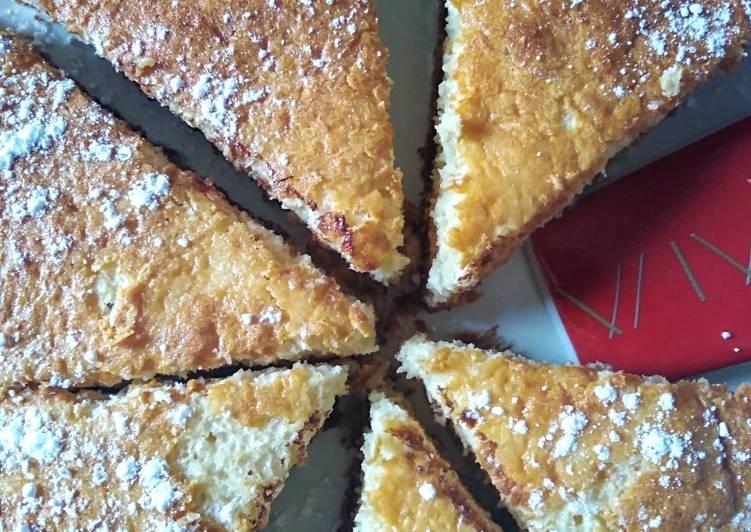 Gâteau moelleux fromage blanc noix de coco et pépites de choc ?