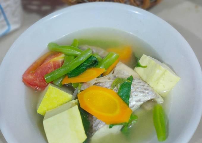 Sup ikan mujair (Diet)