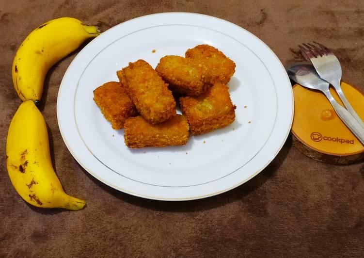 Nugget pisang krenyess