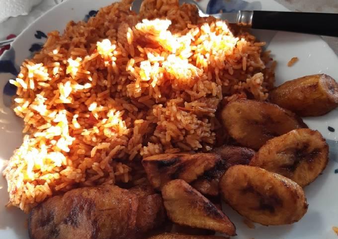 Albby's authentic jollof rice