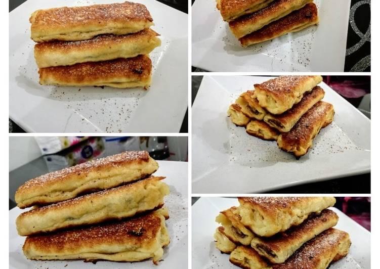 Recipe: Appetizing Nutella French Toast