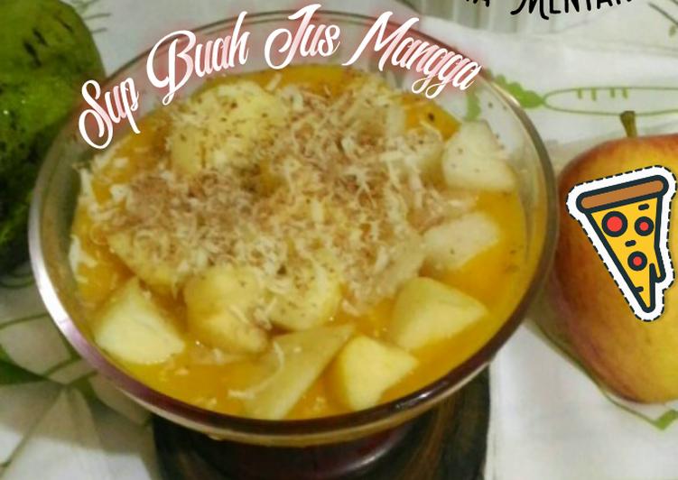 Sup Buah Jus Mangga