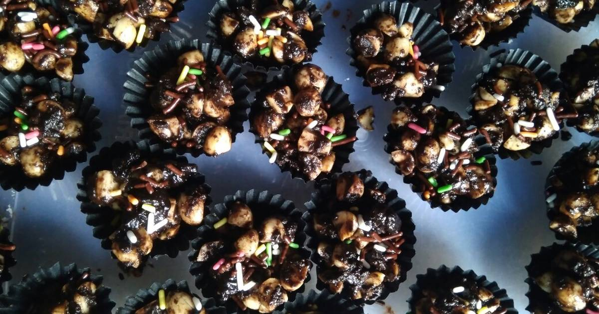 Resep Kue Kacang Coklat Batangan Oleh Meidiana Ritam Cookpad