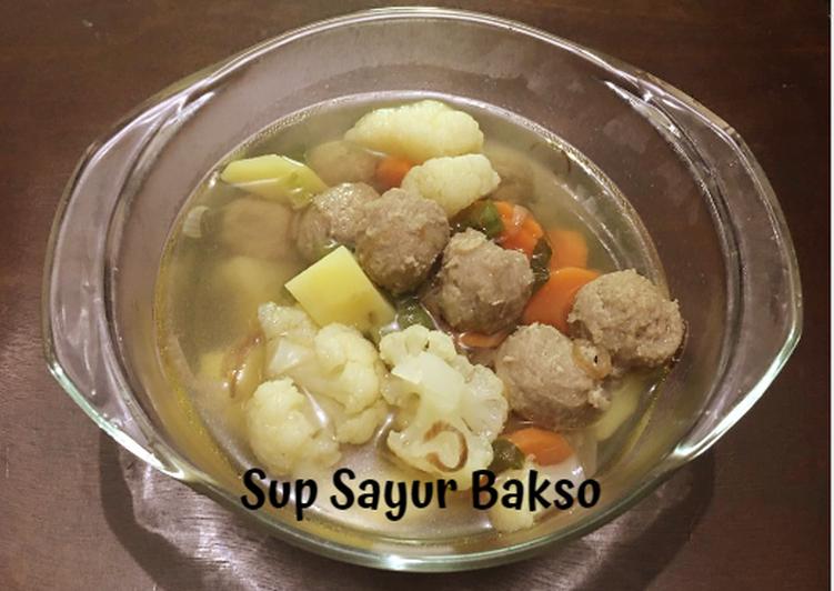 Sup Sayur Bakso