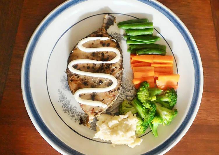 Steak Ikan Marlin ala resto