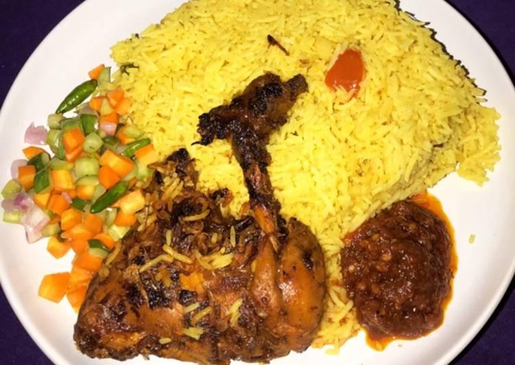 Nasi kebuli rice cooker