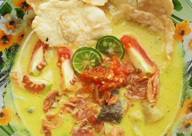 Soto Santan Bogor (Daging, Kikil, Paru)