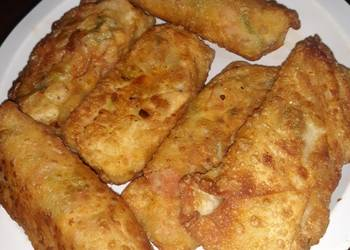Easiest Way to Recipe Perfect Homemade stuffed Egg Rolls
