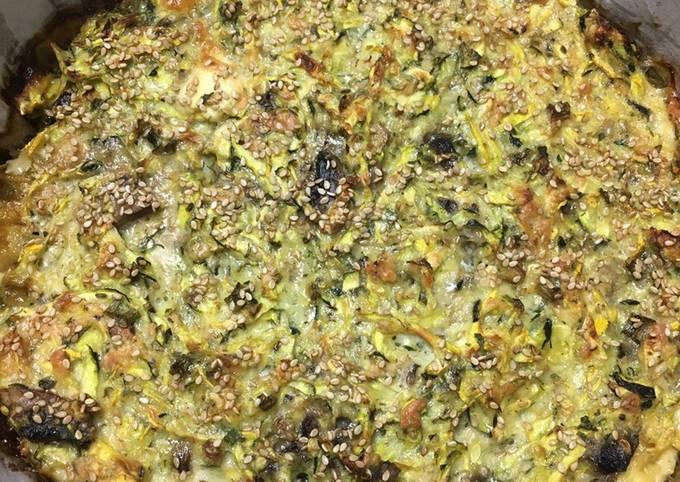 Zucchini & Mushroom Pie