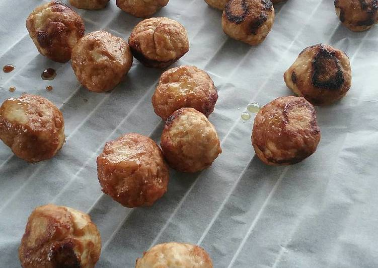 Ginger Chicken Balls