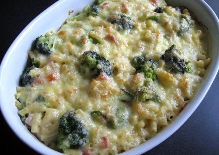 Bacon, Broccoli & Macaroni Cheese