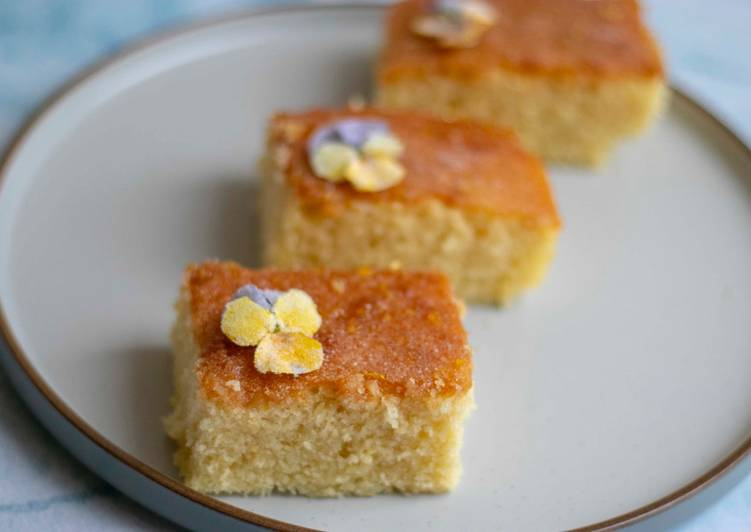 How to Prepare Ultimate Lemon drizzle 🍋 🍰