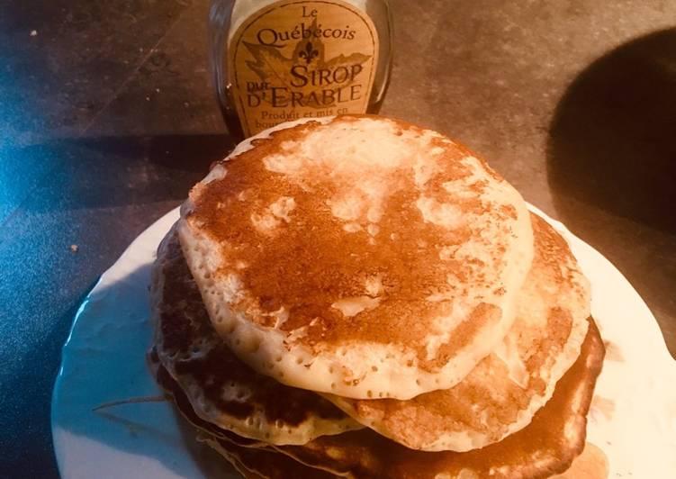 Comment faire Cuire Délicieuse Pancakes