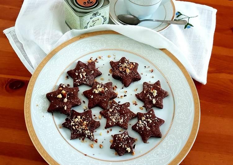 Ricetta Biscotti cacao e nocciole